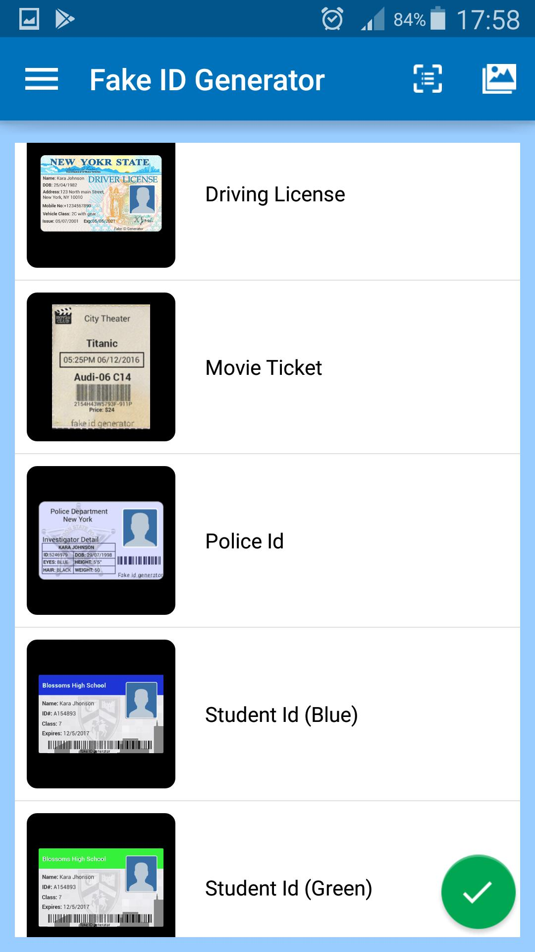 Fake ID Generator pro for Android - APK Download
