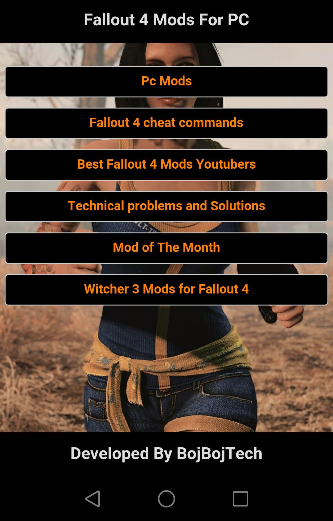 Mods for Fallout 4 Guide for Android - APK Download