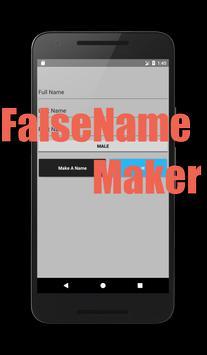 False Name Maker screenshot 1