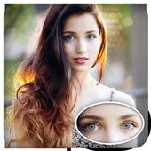 eye color photo editor icon