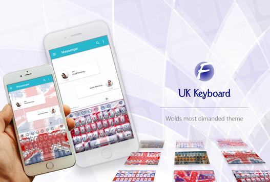 UK Keyboard poster