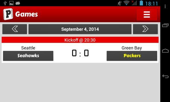 Fantasy Football PickEm apk screenshot