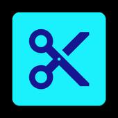 trim video icon