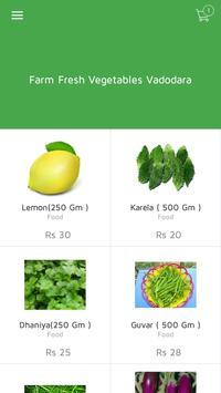 Farm Fresh Vegetables Vadodara poster
