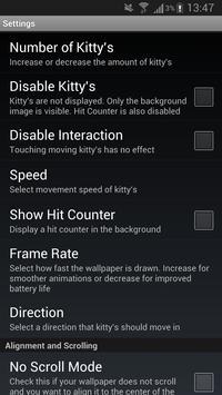 Lily Kitty Heart LiveWallpaper screenshot 4