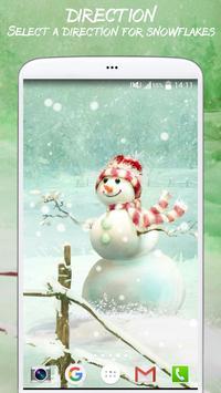 Cute Winter Live Wallpaper apk screenshot