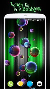 Magic Bubbles Live Wallpaper screenshot 1