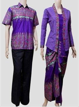 Batik Couple Design poster