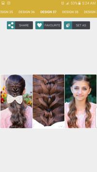 Girls Hair Styles Step by Step apk screenshot