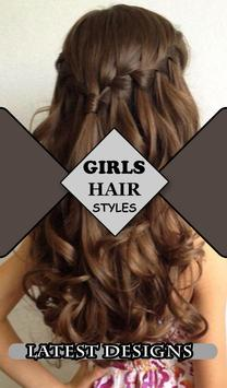 Girls Hair Styles Step by Step poster