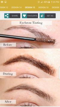 Tinting Eyebrows Step By Step screenshot 3
