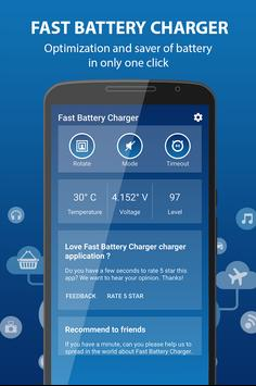 Fast Battery Charger 2017 screenshot 1