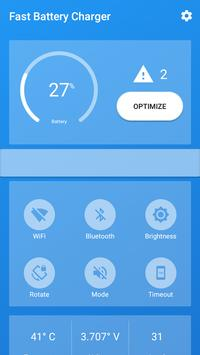 Fast Battery Charger & Saver apk screenshot