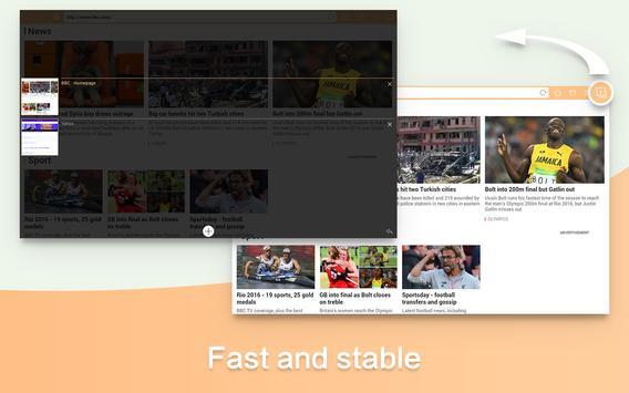 Webブラウザ&ファストエクスプローラ apk スクリーンショット