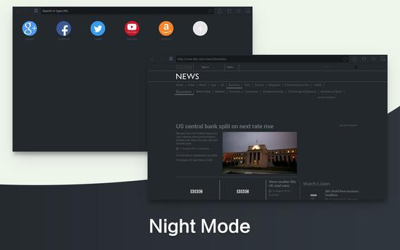 Веб-браузер & Fast Explorer, скриншот приложения