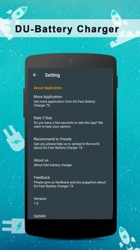 Ultra Fast Battery Charger 20x , 8 GB RAM BOOSTER screenshot 4