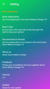 Saver Battery Fast Charger 7D screenshot 3