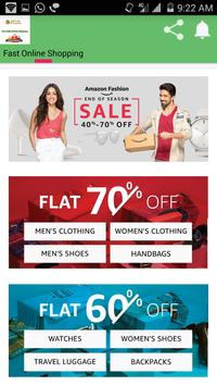 Fast India Online Shopping poster