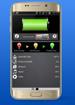 Flame Clean Phone Power screenshot 1