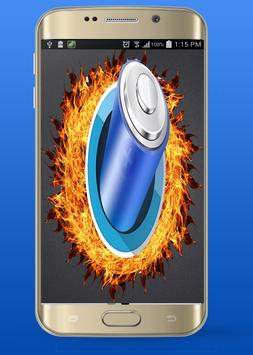 Flame Clean Phone Power screenshot 3