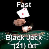 Fast Black jack 21 icon