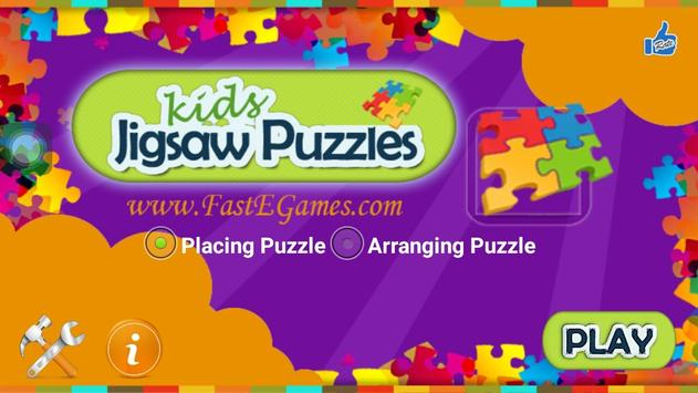 Kids Jigsaw Puzzle Game poster
