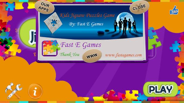 Kids Jigsaw Puzzle Game screenshot 9