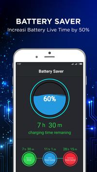 Faster Cleaner - Battery Saver & Charge Booster screenshot 1