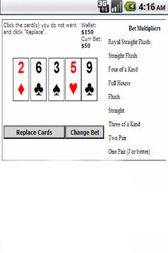 Fast Poker apk screenshot