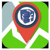 Fake Location gps: icon