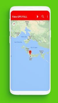 Fake Location gps: apk screenshot