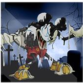Micky Zombie in sponge world icon