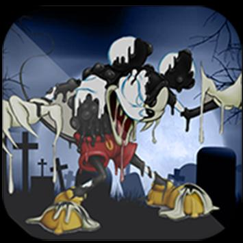 Micky Zombie in sponge world poster