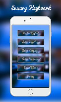 Luxury Keyboard apk screenshot