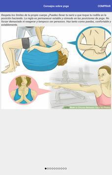 Tips sobre yoga poster