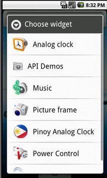 Pinoy Clock Widget free poster