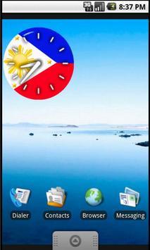 Pinoy Clock Widget free screenshot 2