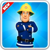 Super Fireman : Hero Mission Game Sam icon