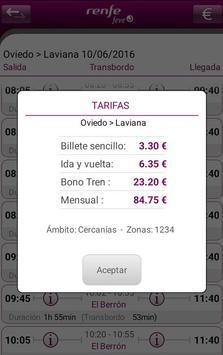 Horarios RENFE FEVE screenshot 3