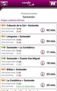 Horarios RENFE FEVE screenshot 4