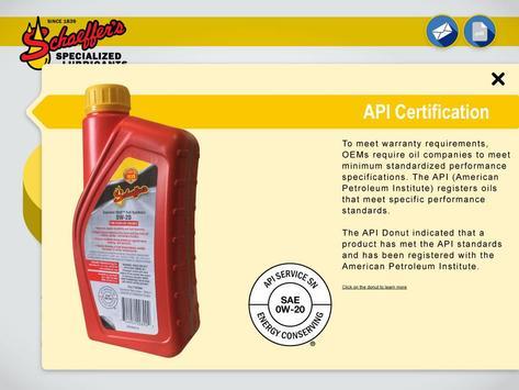 Schaeffer Oil apk screenshot