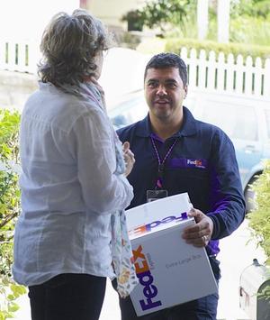 Assistante de Suivi FedEx Express poster