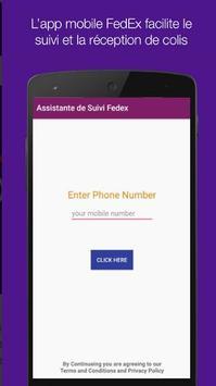 Assistante de Suivi FedEx Express screenshot 1