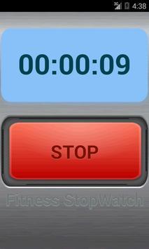 Fitness Stop Watch apk screenshot