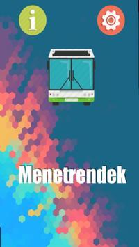 Fehérvári Menetrend poster