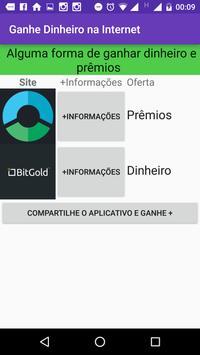 Ganhe Dinheiro na Internet apk screenshot