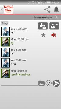 Female Chat screenshot 1