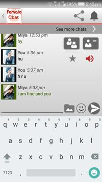 Female Chat screenshot 5