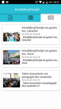 UneMbrojFemijet apk screenshot