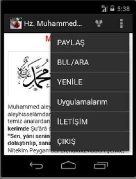 Hz. Muhammed Peygamber Efendim screenshot 3